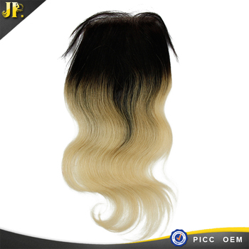 Hot design for the size 4*4 closure of 613#color 100% virgin human hair