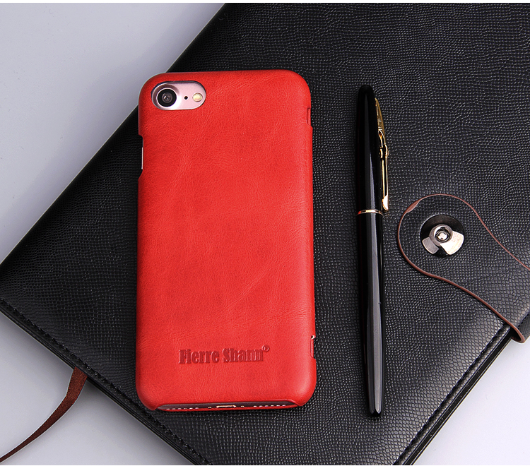 Wholesale premium flip leather mobile phone case for iphone 7