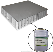 Container usage two component polyurethane glue