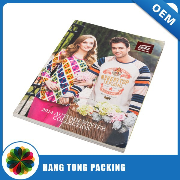 High quality provide sample printing brochure/printing catalogues/printing books