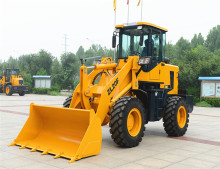 4-wheel drive hydraulic front end China used wheel loader price with CE for sale