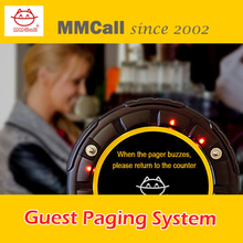 MMcall Guest Paging System restaurant waiter pager Coaster Pager calling systems