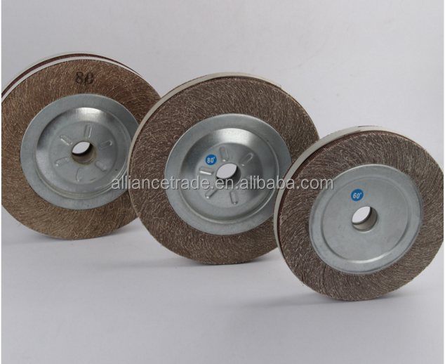 Top quality stainless steel polishing flap wheels