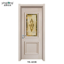 China suppliers waterproof latest design entrance solid wooden main doors design