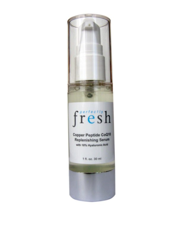 Copper Peptide Q10 Replenishing Serum w/ Hyaluronic Acid