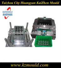 Hot runner plastic 24 bottle beer crate mould injection turnover box mould supplier