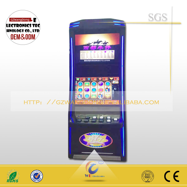 casino machine cabinet/casino slot machine manufacturers