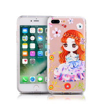 Fashion custom gel phone case,3d cartoon cell phone case