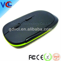Super slim mini wireless gaming mouse with customized logo, high quality