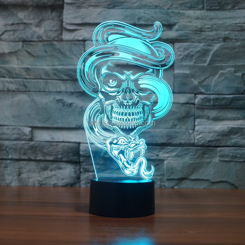 why to order creative usb crystal football 3d effected led projector night light