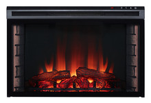 24inch/28inch 3 sides electric fireplace cheap mantel for home heater