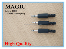 good qualtiy 3.5MM stereo plug with best price made in China