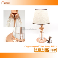 Contemporary Copper Crystal Lighting For Living