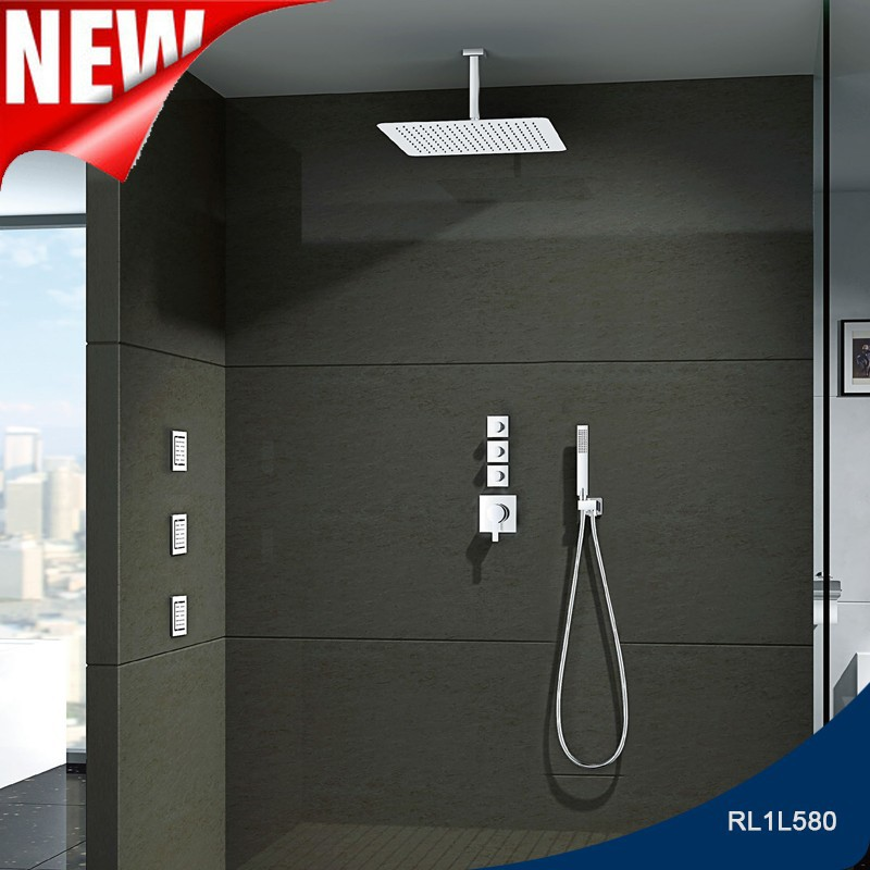 High quality shotel use upc invent shower faucet system