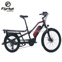 new style two wheel cargo bike electric bafang motor e cargo bike for food delivery