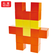 Customized 105 Pcs Magnetic Cube Block Magnetic Toy Kit