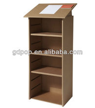 Eco-friendly A-PD156-9 corrugated cardboard furniture cupboard portable display cabinet