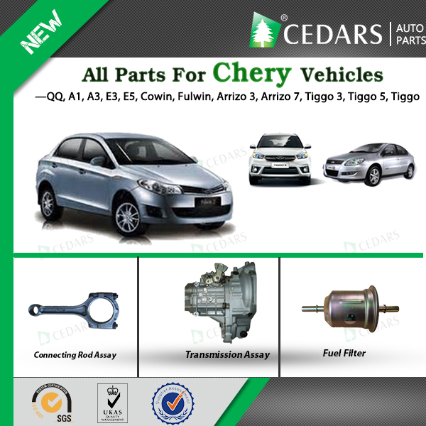 Spare parts for Chery Car