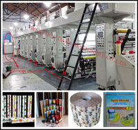 China plastic film blowing gravure printing machines wholesale supplier