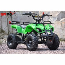 QWMOTO CE 4 Wheeler Easy Pull Starter 49CC 2 stroke Mini Dirt Quad Bike 50cc Mini Kids ATV for Cheap Sale/QWMATV-01E