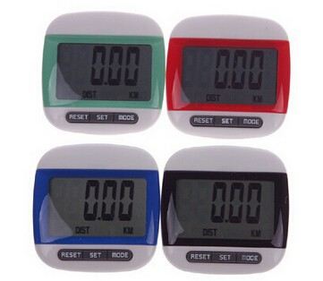 High Quality Cheap Sports Digital Mini Calorie Walking Distance Calculation LCD Pedometer