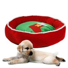 pet products/soft Christmas pet bed(YX72704)