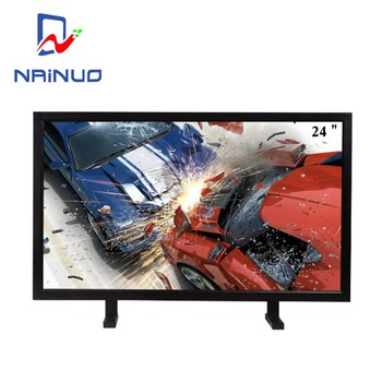 24 inch narrow bezel industrial zone led cctv monitor with HDMI input