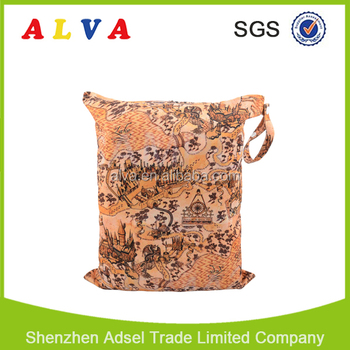 Alva New Cloth Nappy Bags Waterproof Baby Diaper Bag Wholesale Manufature