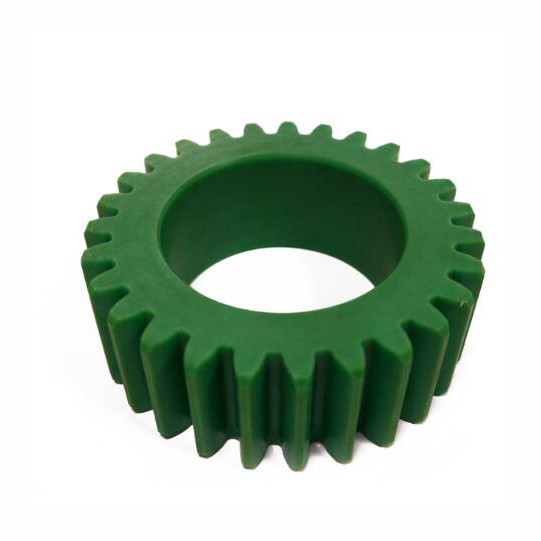 MMS OEM making small custom machining plastic helical gear wheel