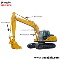 arm hydraulic cylinder use for excavator