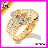 WONDERFUL WHOLESALE 24K GOLD SETTING RING