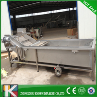 brush washing machine brush washer fruit and vegetable cleaning machinery