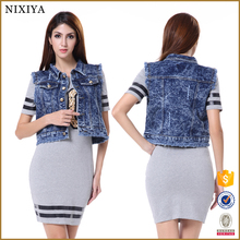 Cool Design Women Jacekts Denim Short Jackets Fancy Jackets