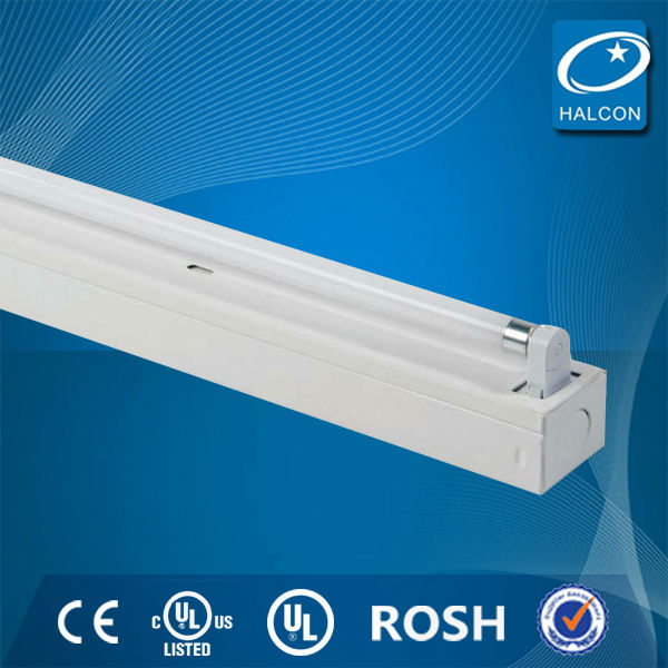 2014 hot ul ce t5 t8 fluorescent lighting fixture double t8 fluorescent lamp fixture led tube fixture in China