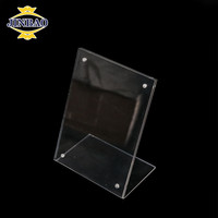 JINBAO Factory Custom Wholesale Desktop Acrylic Business Cards Display Sign Holder