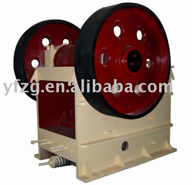 soil crushing jaw crusher