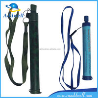 Mini portable survival hiking camping emergency outdoor water filter