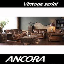 Aviator Genuine leather sofa A120