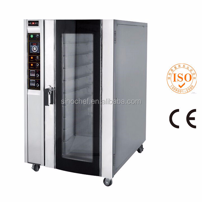 Professional 10 trays electric convection oven with CE approved
