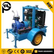 4 inch water cooler diesel engine driven pump