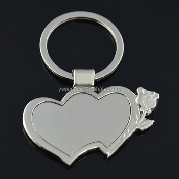 Christmas promotion Gift heart shape keychain