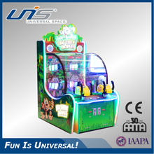 UNIS indoor game for kids child game ball shooting redemption game Big Teeth Monkey