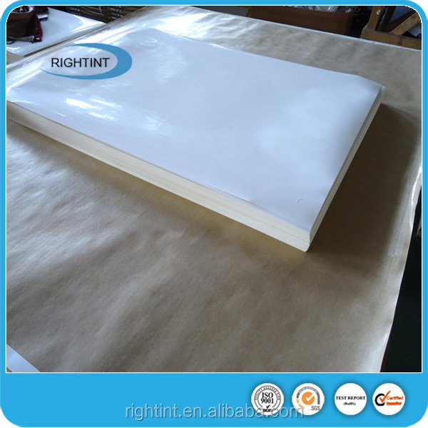 Promotion products:Hotmelt self adhesive cast coated paper sheets