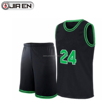 Free design latest black basketball uniforms customize sublimation printing basketball jerseys