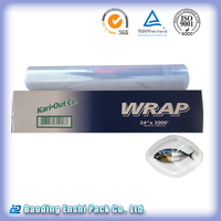 LDPE plastic film with metal cutter