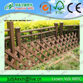 Eco-friendly,Anti-corrosion and Anti-aging wpc fencing