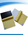 Photo album self adhesive pvc sheet in yellow paper