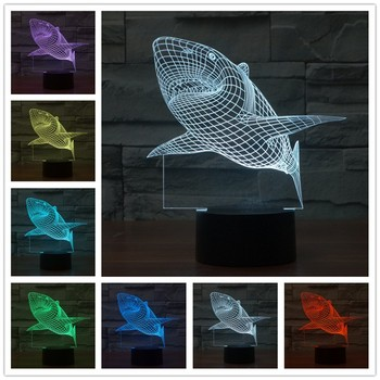 Christmas gift 3d Illusion Lamp Creative Design Magical Night Lights Kids Room Decoration USB Led Table Lamp