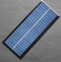2.5W 12V Mini Solar Cell Polycrystalline Solar Panel DIY For 9V Battery Charger 213*92*3MM