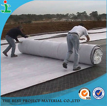 Road construction fabric nonwoven geotextile material